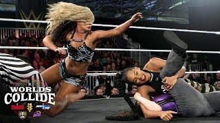Toni Storm vs. Nikki Cross vs. Bianca Belair: WWE Worlds Collide, April 24, 2019