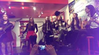 "Cimorelli - ""Renegade"" at the AwesomenessTV space in LA"
