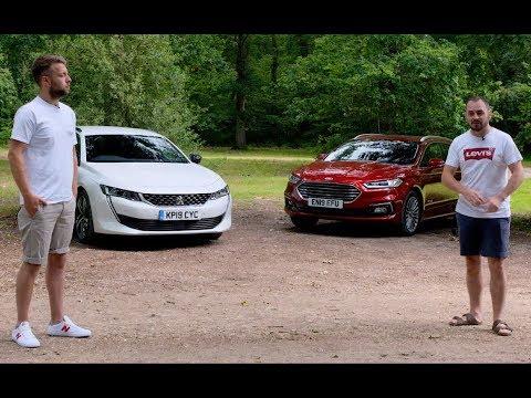 Motors.co.uk - Rivals - Peugeot 508 SW v Ford Mondeo Estate