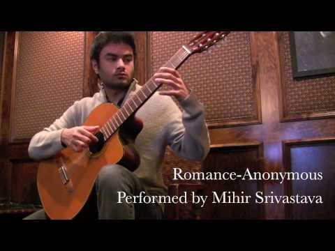 Romance - Classical Guitar Piece Performed by Guitars2400 (turn up volume)