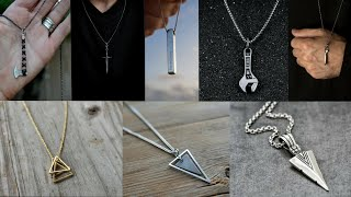 Mens Pendant Necklace | Stylish Chain Pendant Necklace For Men