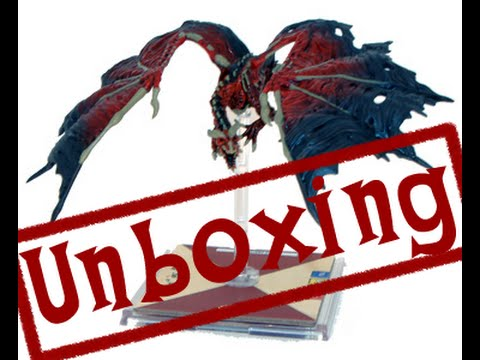 Unboxing: D&D Attack Wing: Red Dracolich