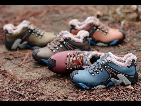 Обзор стильных красивых зимних кожаных кроссовок ботинок на меху. Смотрятся добротно