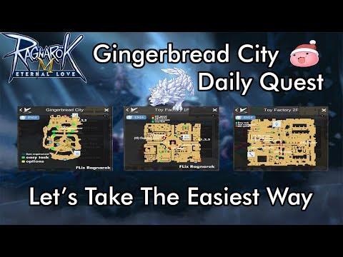 Hidden Daily Quests @ Gingerbread City!   Ragnarok Mobile: Eternal Love