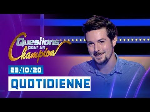 Emission du Vendredi 23 Octobre 2020 - Questions pour un champion