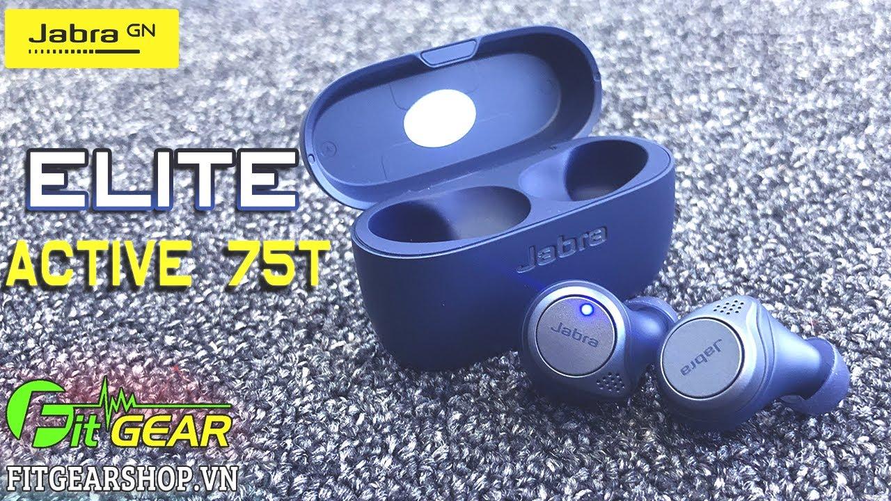Jabra ELITE Active 75t | Màu sắc mới, hoàn thiện hơn và chống nước TỐT hơn
