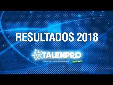 Resultados TalenPro 2018