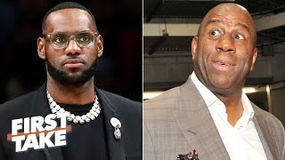 LeBron deserves to know why Magic Johnson suddenly abandoned the Lakers - Stephen A. | First Take