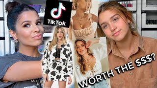 WE TESTED VIRAL TIKTOK ONLINE CLOTHING STORES!