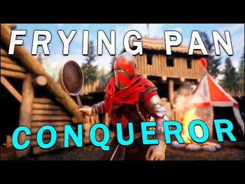 FRYING PAN CONQUEROR - Mordhau (Battle Royale) - Wilsonator - Video