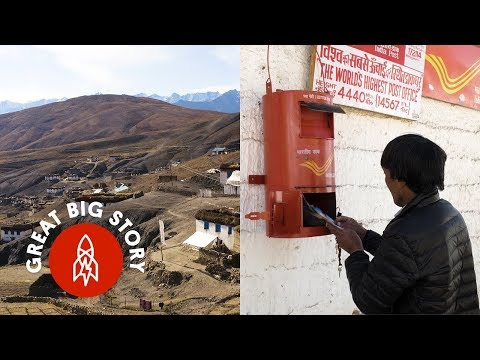 The Mail is Always Delivered at the Highest Post Office in the World