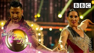 Michelle and Giovanni Cha Cha to 'So Emotional'   Week 1 - BBC Strictly 2019
