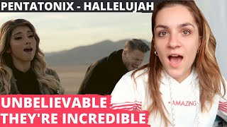 """French Girl First Time EVER Listening to Pentatonix """"HALLELUJAH"""""""