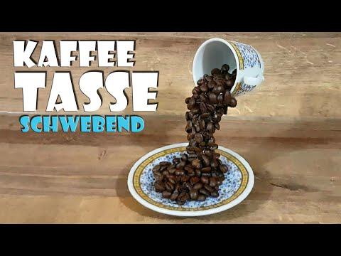 Schwebende Kaffeetasse - Tutorial making flying cup of coffee