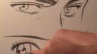 How to Draw Manga Eyes: Male Vs. Female