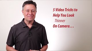How To look Thinner On Camera - Larry's (Fake) Video Diet Tips