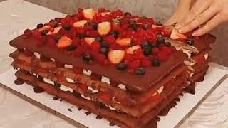 Крутой быстрый торт. Видео рецепт