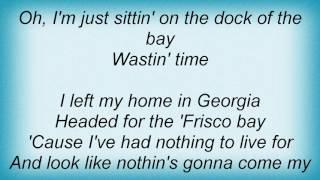 Aaron Neville - (Sittin' On) The Dock Of The Bay Lyrics