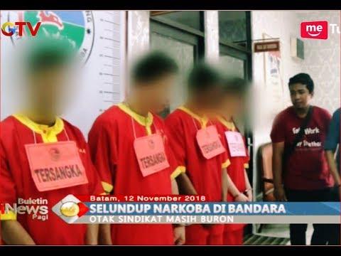 Selundupkan Sabu Asal Malaysia, 4 Orang Ditangkap di Batam - BIP 12/11