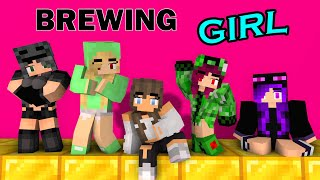 MONSTER SCHOOL: BREWING BEAUTIFUL GIRL - FUNNY MINECRAFT ANIMATION