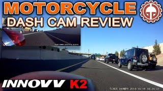 Motorcycle Dash Cam - Innovv K2 Review