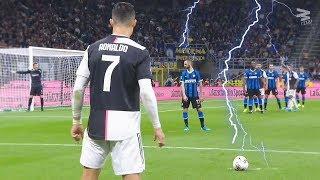 Rare Free Kick Goals in Football