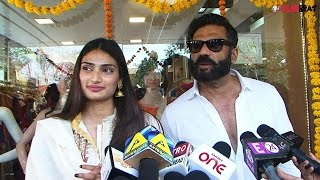 Sunil Shetty Speaks On Working With Daughter Athiya Watch Video