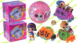 Punk Boi LOL Surprise Riding Yellies ! Shopkins + LOL Pets Blind Bags Toys