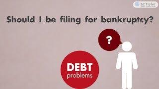 Filing for Bankruptcy in Winnipeg
