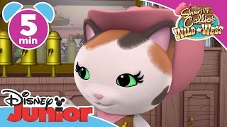 Sheriff Callie | Milkshake Shakedown | Disney Junior UK