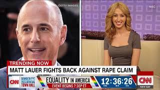 Brooke Nevils, Matt Lauer rape accuser, fires back at him