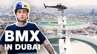BMX Riding Dubai's Most Famous Landmarks | with Kriss Kyle