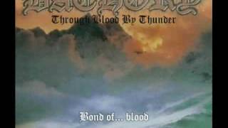 BATHORY - Through Blood By Thunder + Lyrics