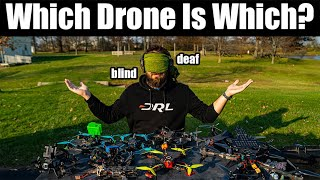Can you tell which drone you're flying only by flight feel?