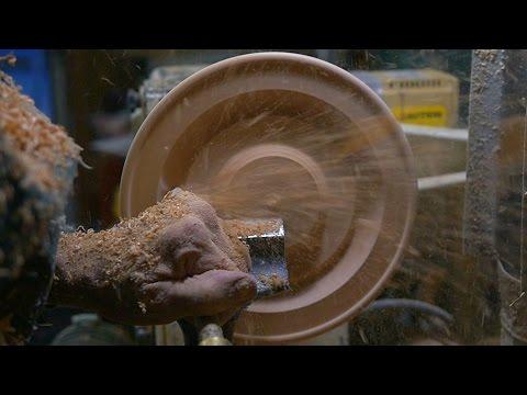 Master Wood Turner Erv Tschanz