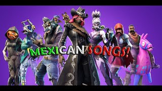 All fortnite dances but with Mexican song part 2