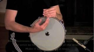 Intro to Doumbek (Middle-Eastern Hand Drum) - Three basic hits - Dum, Tek and Ka