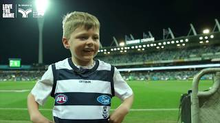 Love the Game Round Match - Geelong Cats