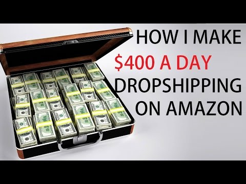 How To Make Money Online Selling On Amazon Drop Shipping $300 A Day 2016