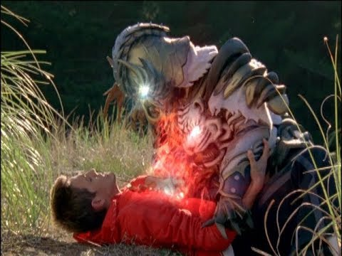 Power Rangers Jungle Fury - Tigers Fall, Lions Rise - Whiger steals Casey's Animal Spirit