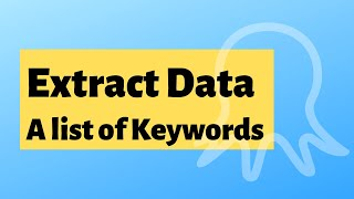 Scraping a List of Keywords