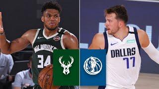 Milwaukee Bucks Vs. Dallas Mavericks [FULL HIGHLIGHTS] | 2019-20 NBA Highlights