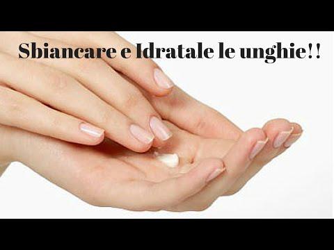 Metodi nazionali di trattamento di un fungo di unghia di una mano