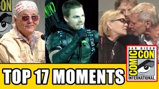 Top 17 Moments At Comic Con 2015