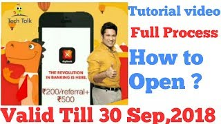 Digibank Full Tutorial Video | Digibank Refer and Earn ₹200/referral+₹500