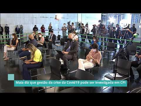 Maia diz que gestão da crise da Covid pode ser investigada em CPI - 18/01/21