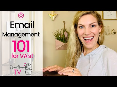 Part of a video titled Email Management Virtual Assistant - YouTube