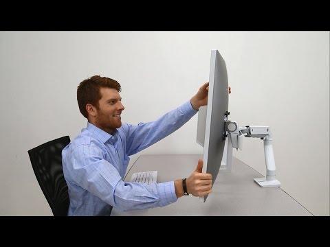 """Ergotron HX Monitor Arm mit patentierter CF-Technologie (Tisch, 49"""")"""