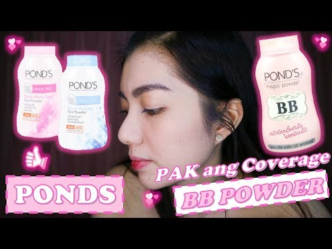 PONDS BB POWDER REVIEW + PONDS ANGEL FACE POWDER REVIEW