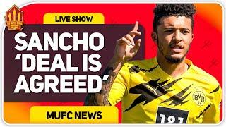 SANCHO DEAL AGREED!! Man Utd Transfer News